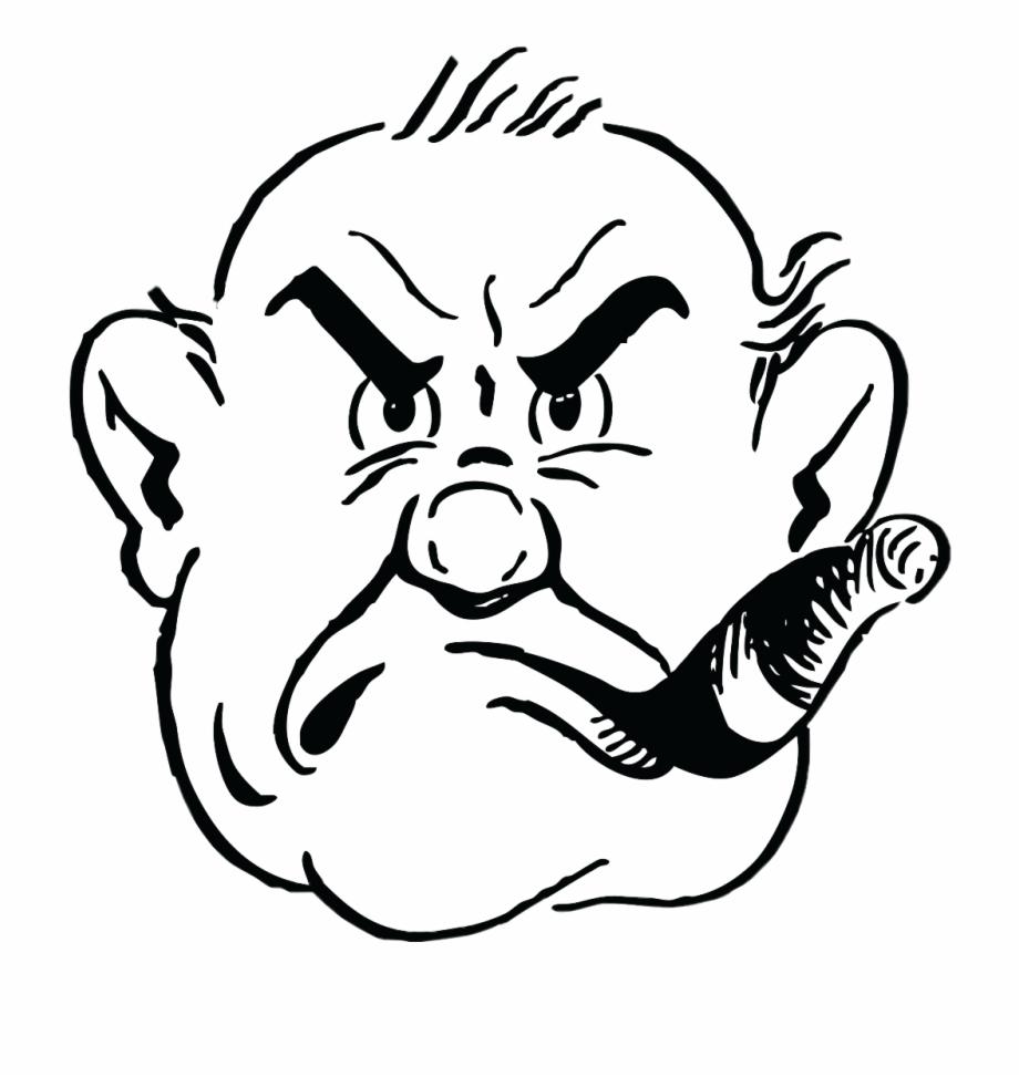 angry #sigar #man #freetoedit.