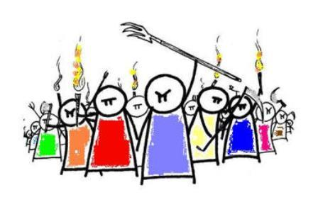 Angry mob clipart 7 » Clipart Portal.