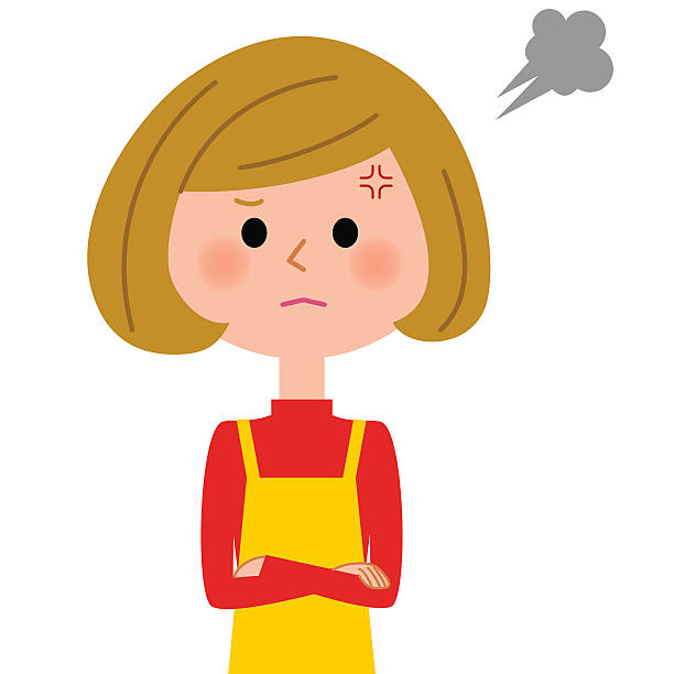 Mom Angry Clipart.