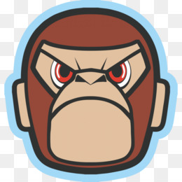 Angry Monkey PNG and Angry Monkey Transparent Clipart Free.