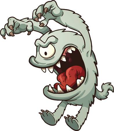 11,757 Angry Monster Stock Illustrations, Cliparts And Royalty Free.