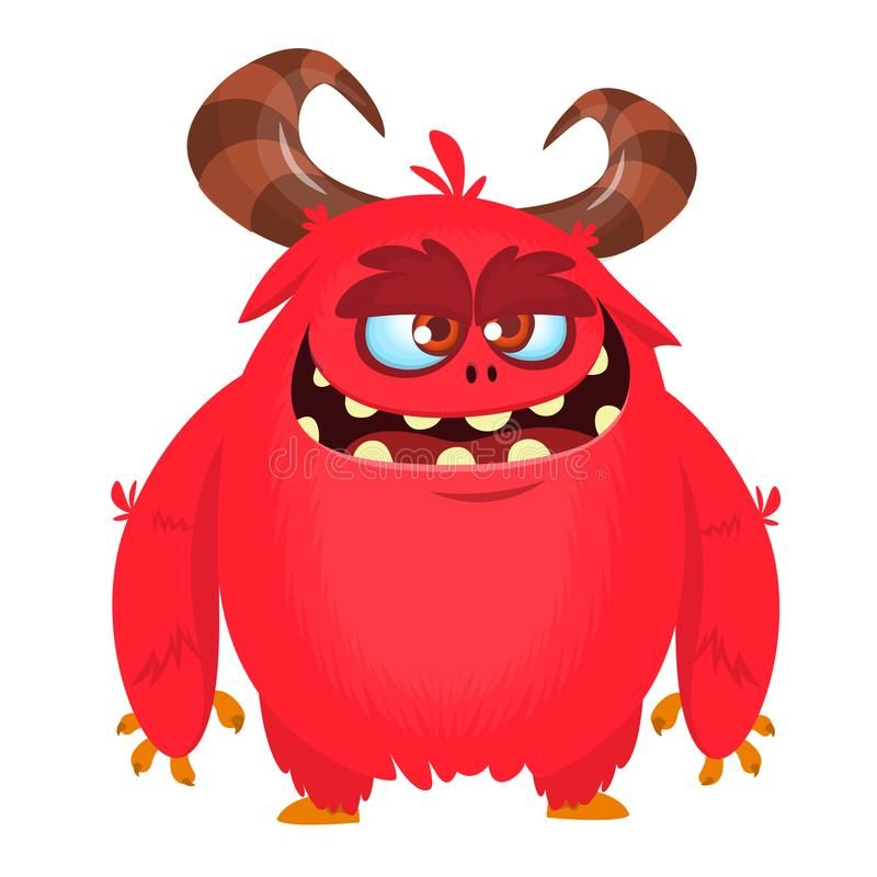 Angry Monsters Stock Illustrations.