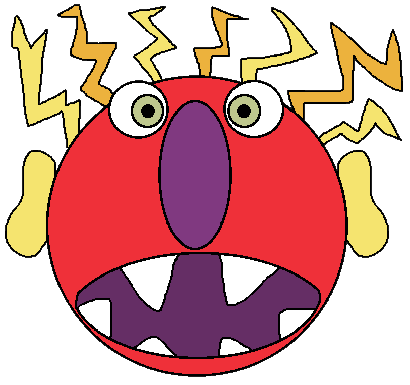 Monster clipart angry monster, Monster angry monster.