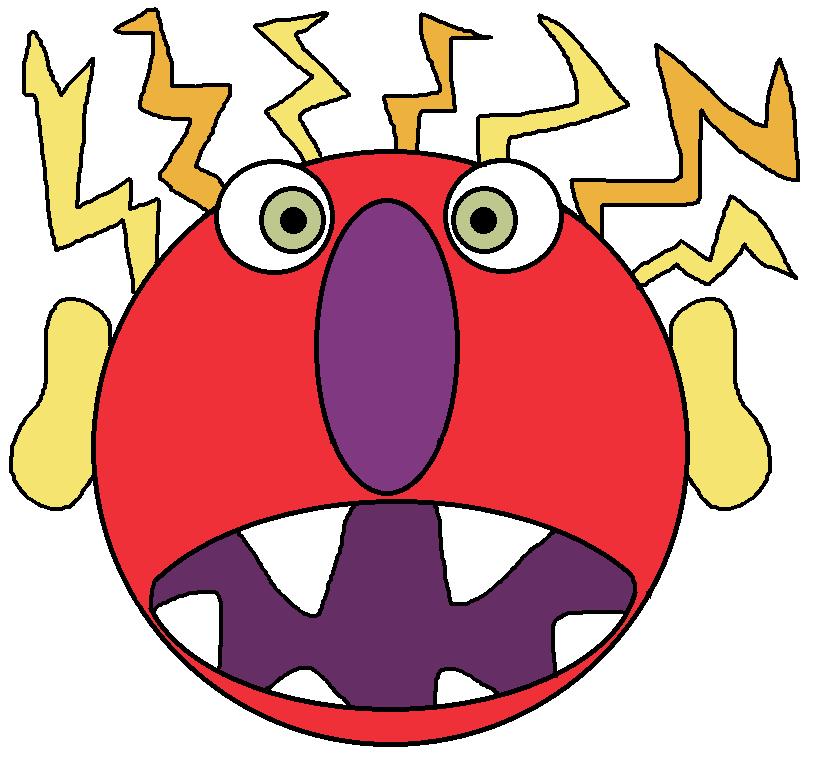 Monster clipart angry monster, Monster angry monster.