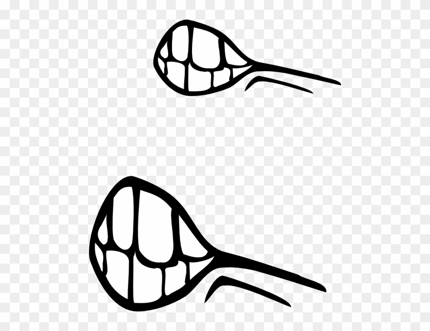 Angry Mouth Clip Art.