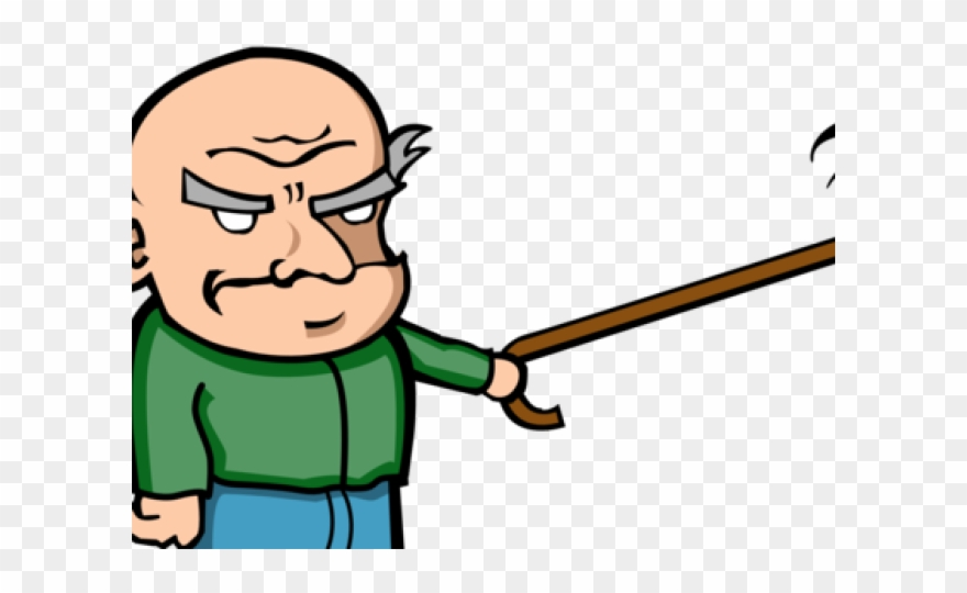 Angry Old Man Cartoon Clipart (#3211086).