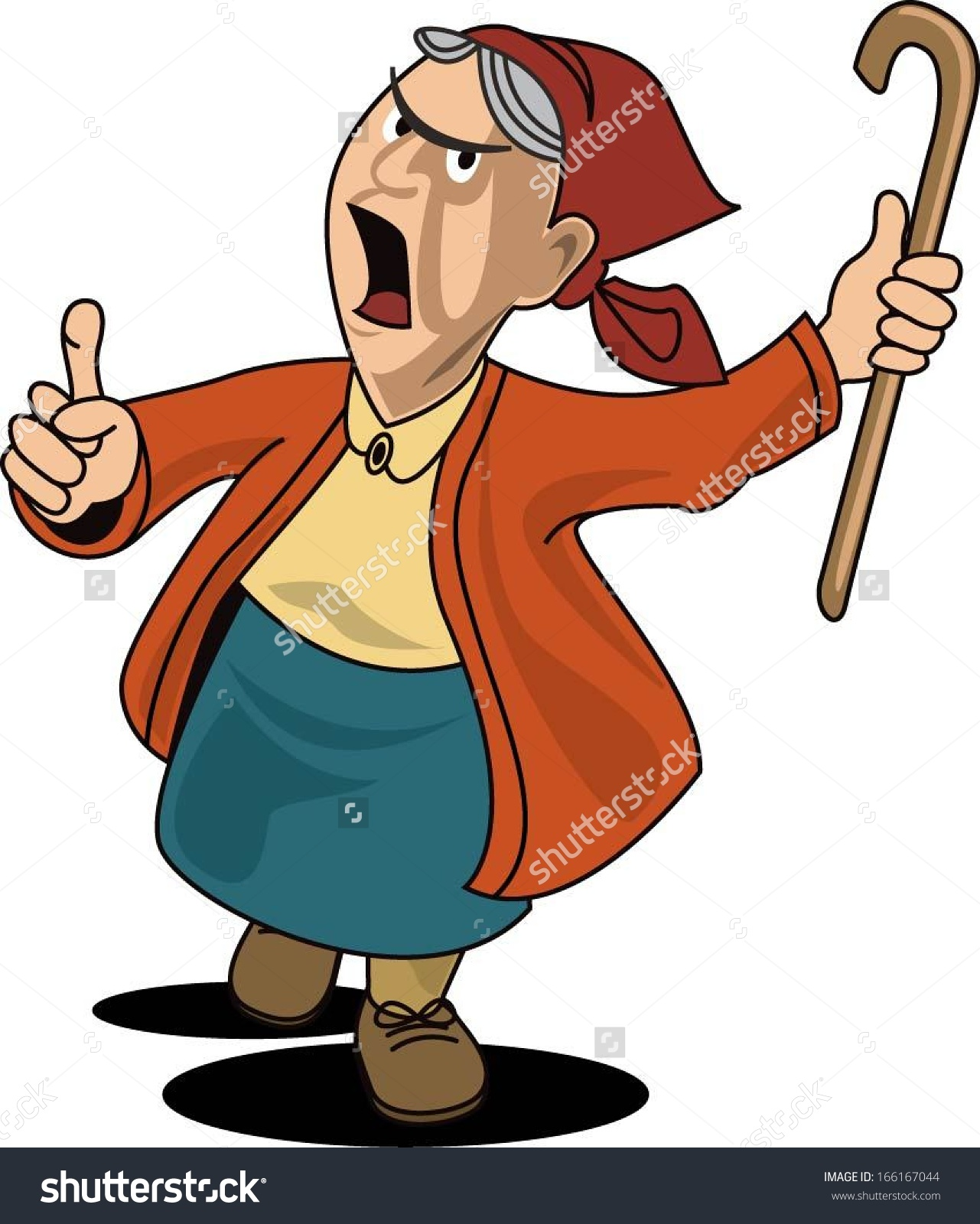 20632 Old free clipart.