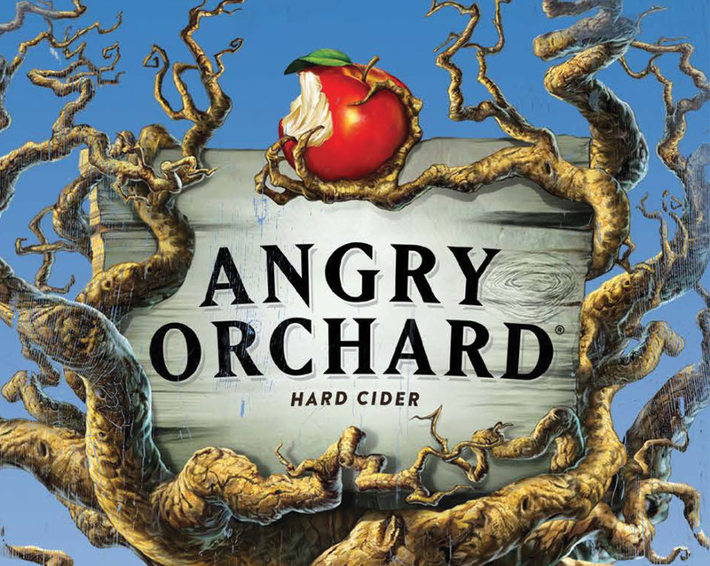 Angry Orchard Orchard\'s Edge Old Fashioned.