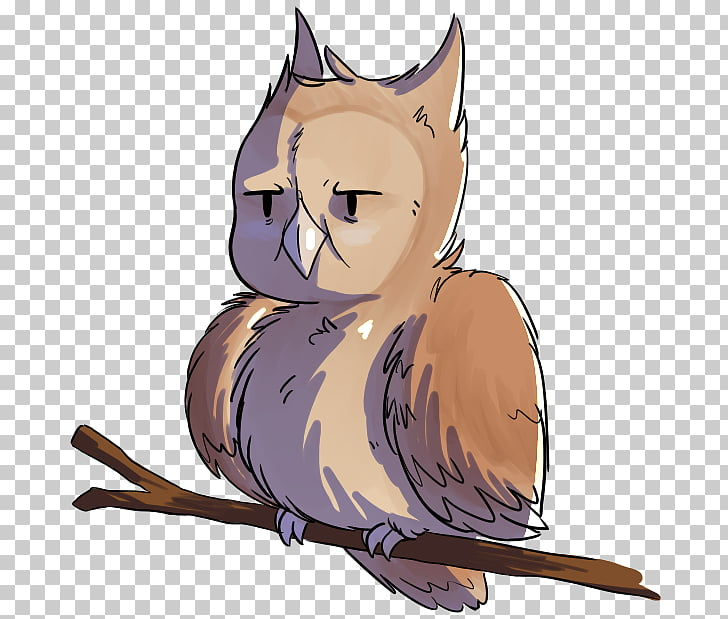 Whiskers Kitten Cat Owl Canidae, angry owl PNG clipart.