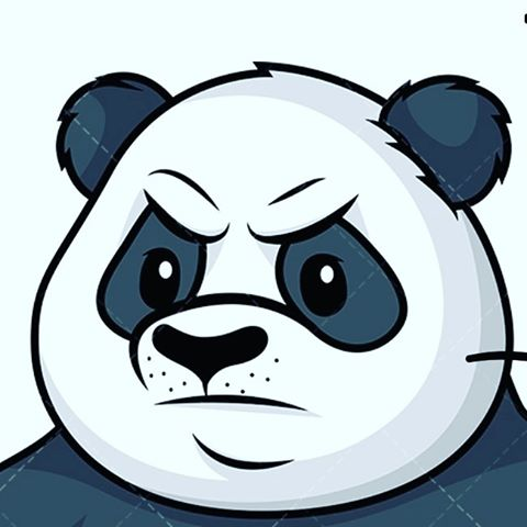 Angry panda clipart originsl artist clipart images gallery.