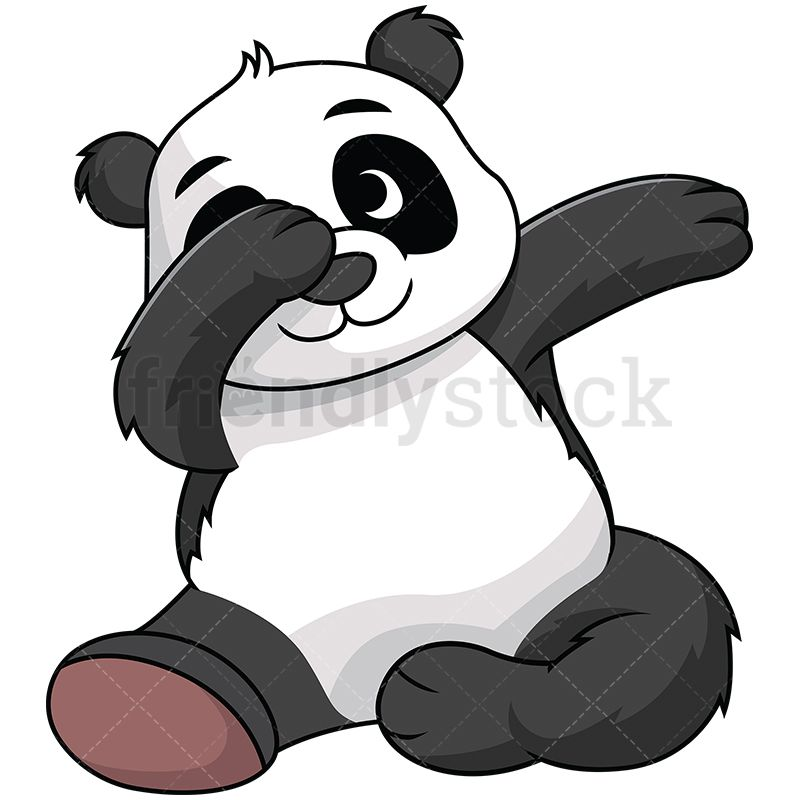 Dabbing Panda in 2019.