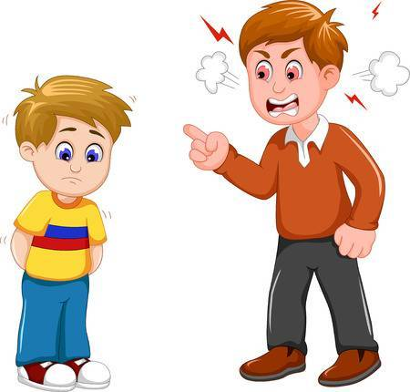Angry parent clipart clipart images gallery for free.