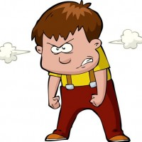 angry person clipart.