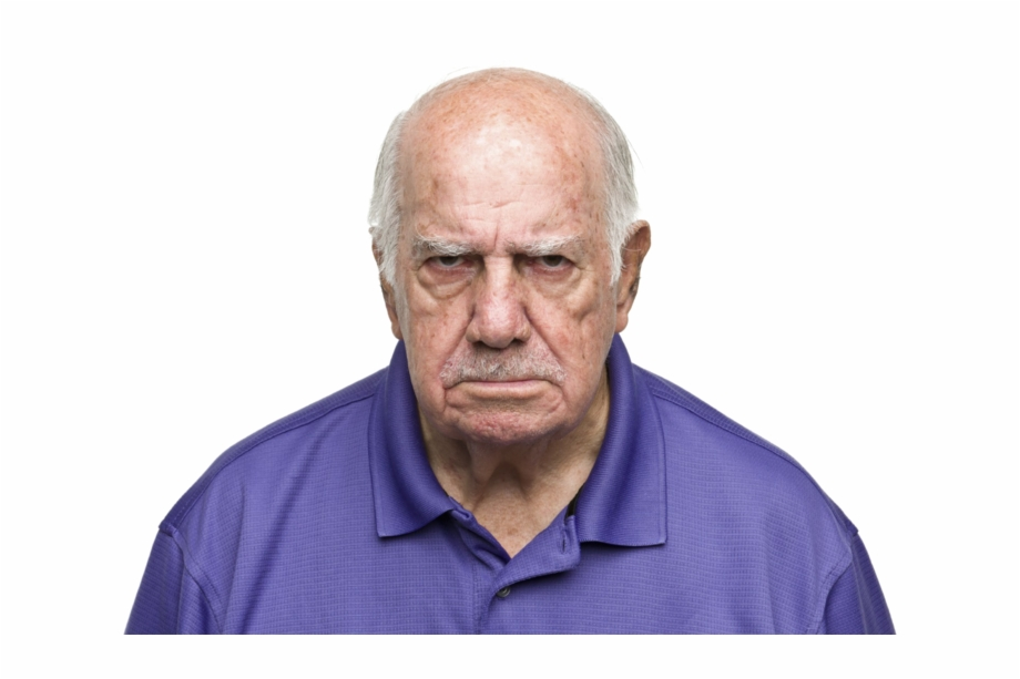 Angry Person Png.