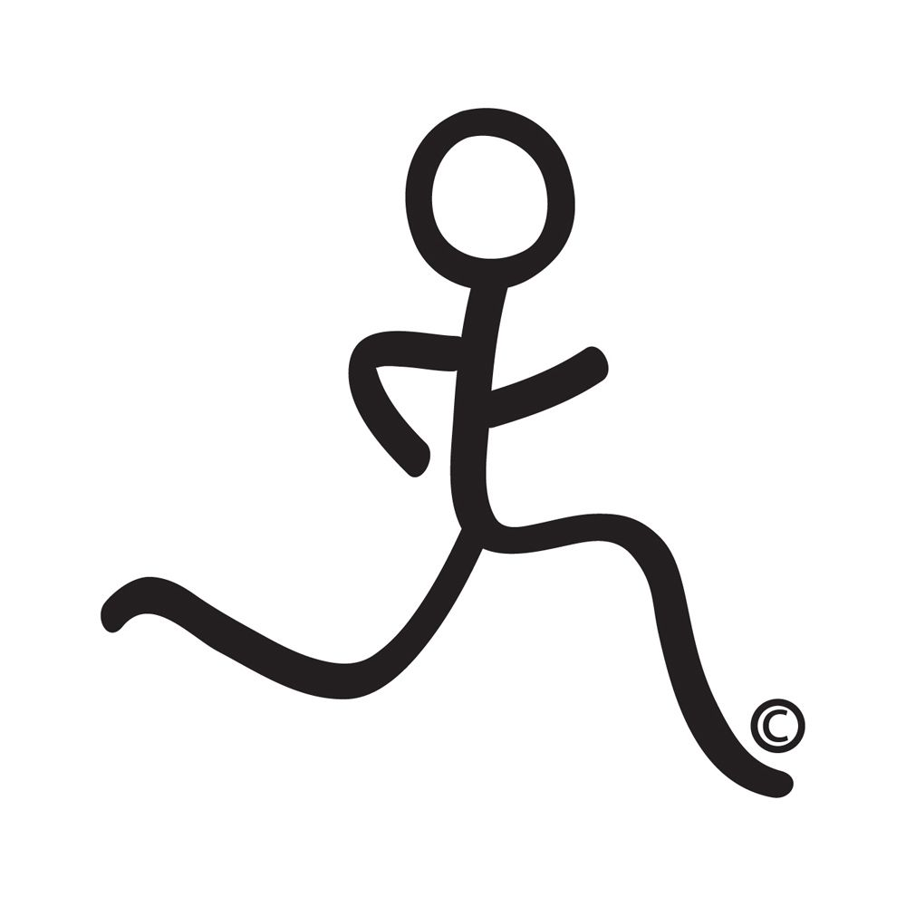 Running Stick Figure.