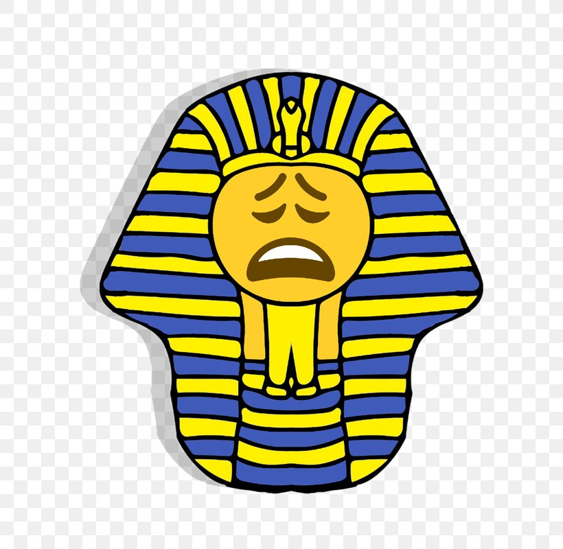 Ancient Egypt Emoticon Pharaoh Smiley Clip Art, PNG.