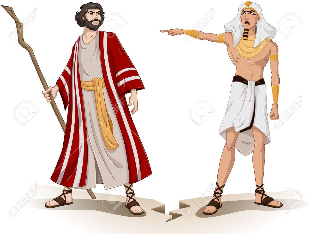 Egyptian clipart moses pharaoh, Egyptian moses pharaoh.