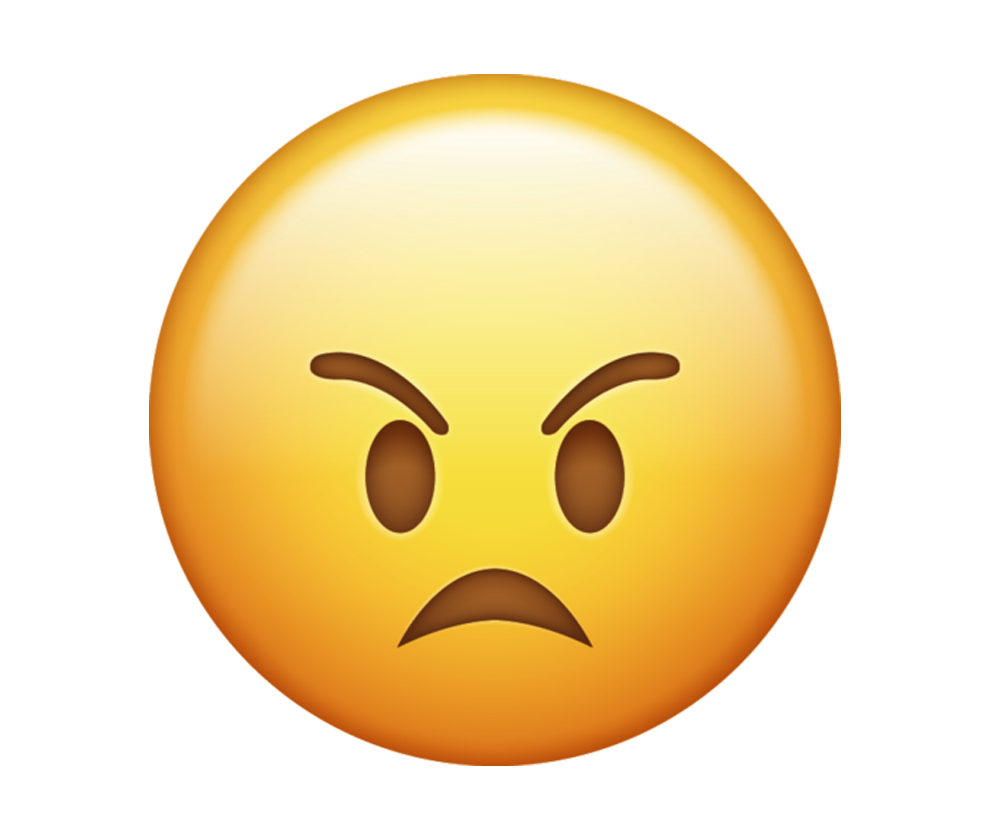 angry emoji png transparent background image.