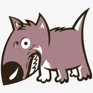 Dog Growling Clipart Angry Animal Canine Free Vector.