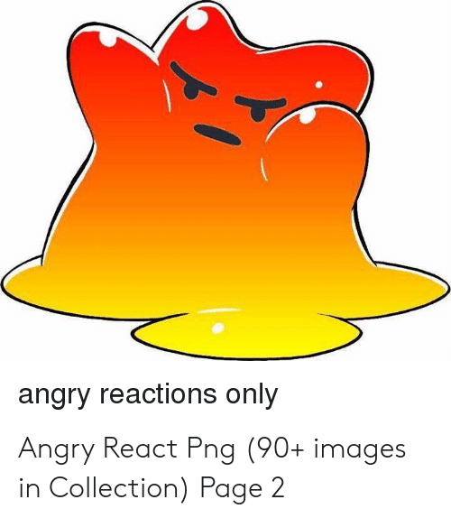 Angry Reactions Only Angry React Png 90+ Images in Collection Page 2.