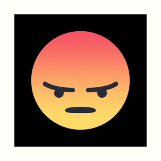 Angry React Png Vector, Clipart, PSD.