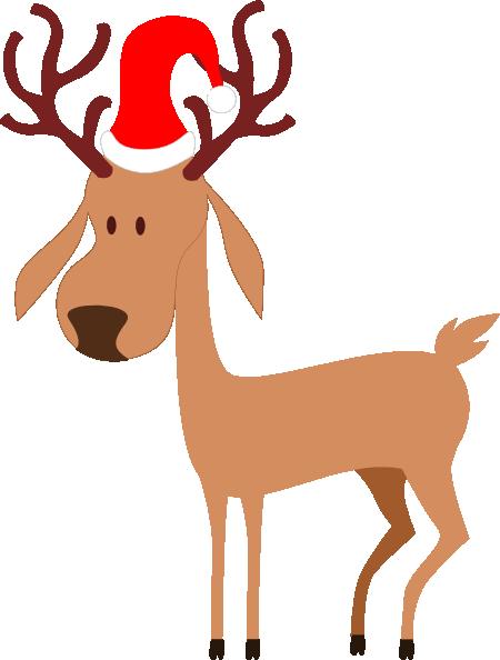 Rudolph Reindeer Santa Claus Christmas Clip art.