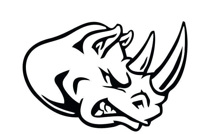 Collection of Rhino clipart.