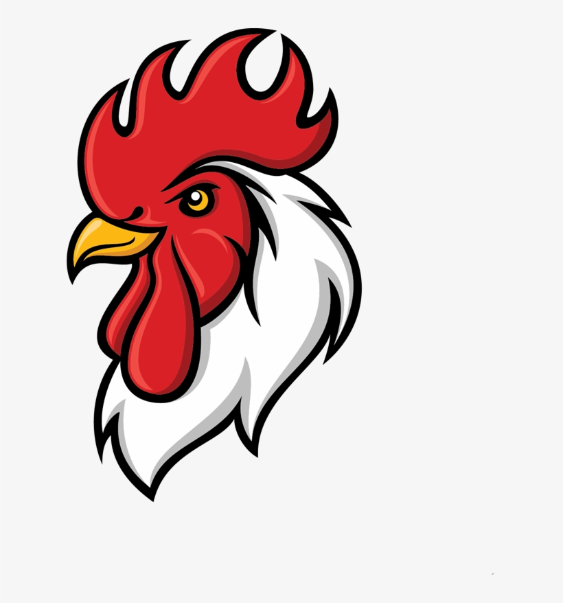 Angry Rooster Png.