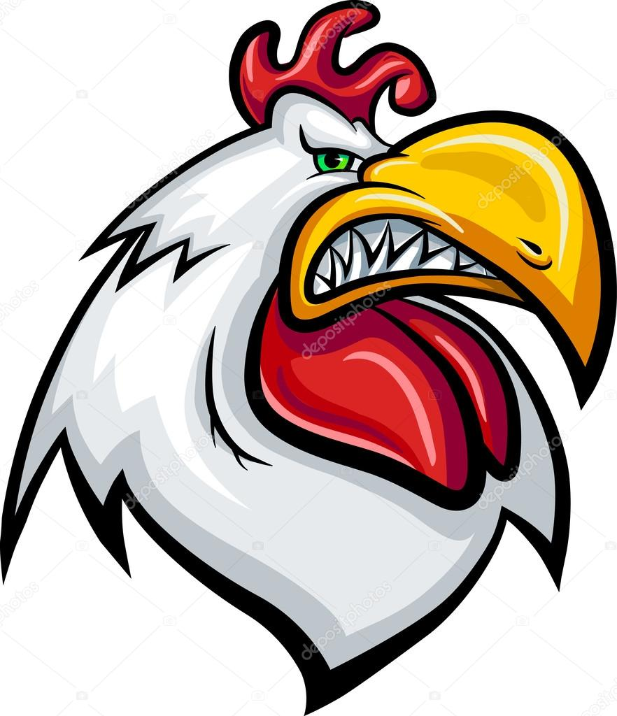 2322 Rooster free clipart.