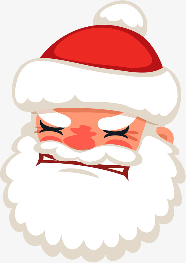 Angry Santa Clipart & Clip Art Images #11888.