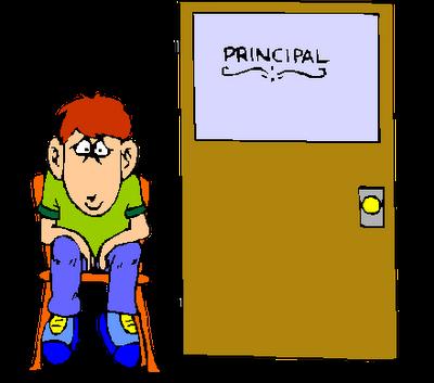 Angry Principal Clipart.