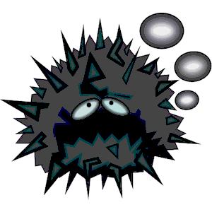 Sea Urchin Angry clipart, cliparts of Sea Urchin Angry free.