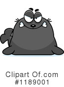 Angry Seal Clipart #1.