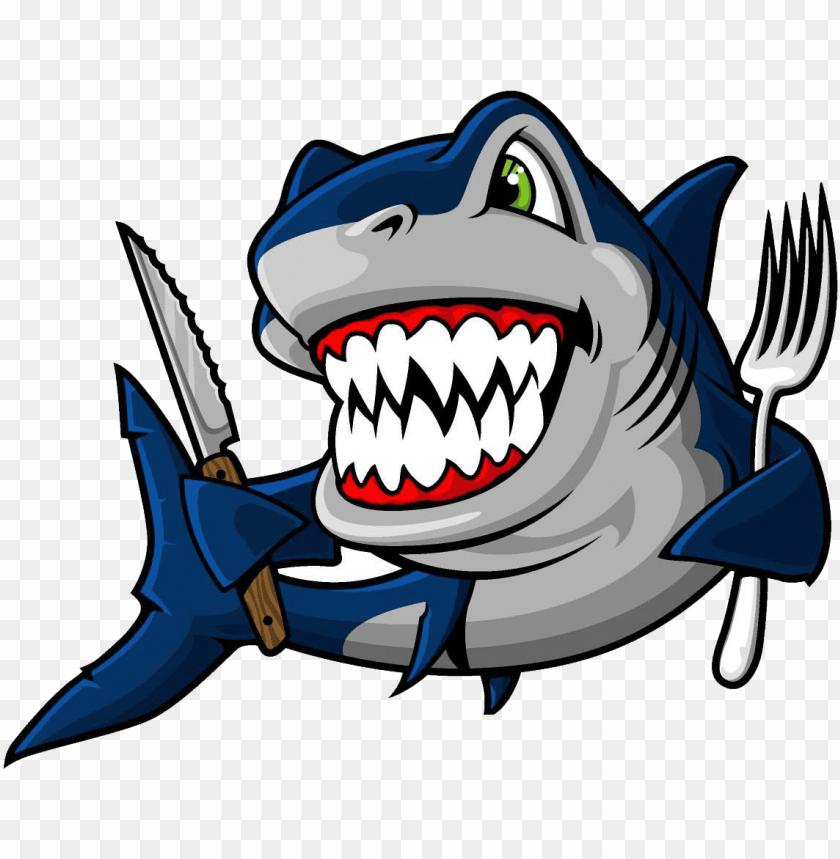blue shark bruce clip art.