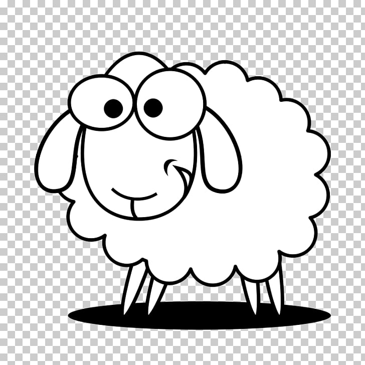 Black sheep White Goat , Free Sheep PNG clipart.
