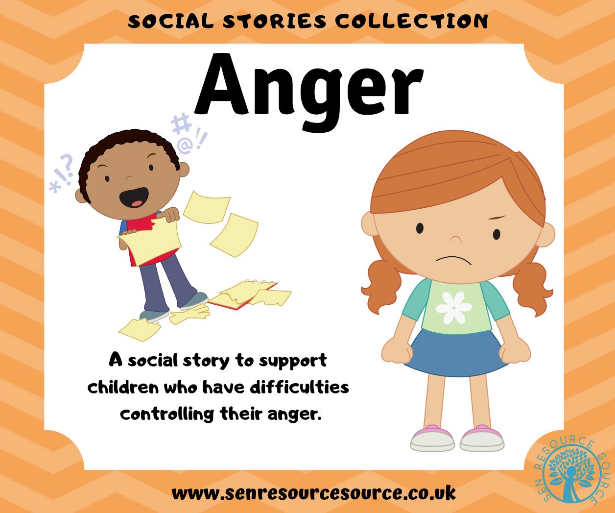 Anger social story.