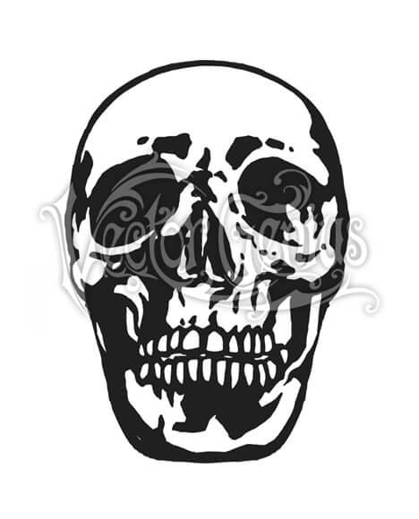 Graphic Skull StockArt.