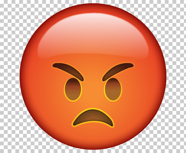 Emoticon Emoji Smiley Anger , angry , angry emoji PNG.