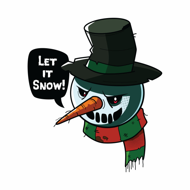 Angry Snowman by jeykorney.