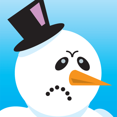 """Angry Snowman: Build an """"Angry Birds"""" Game From Scratch."""