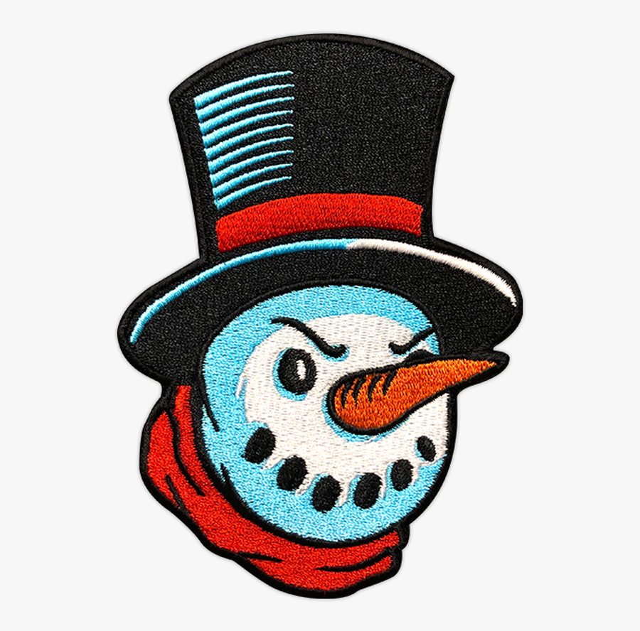 Dapper Angry Snowman Patch By Seventh.