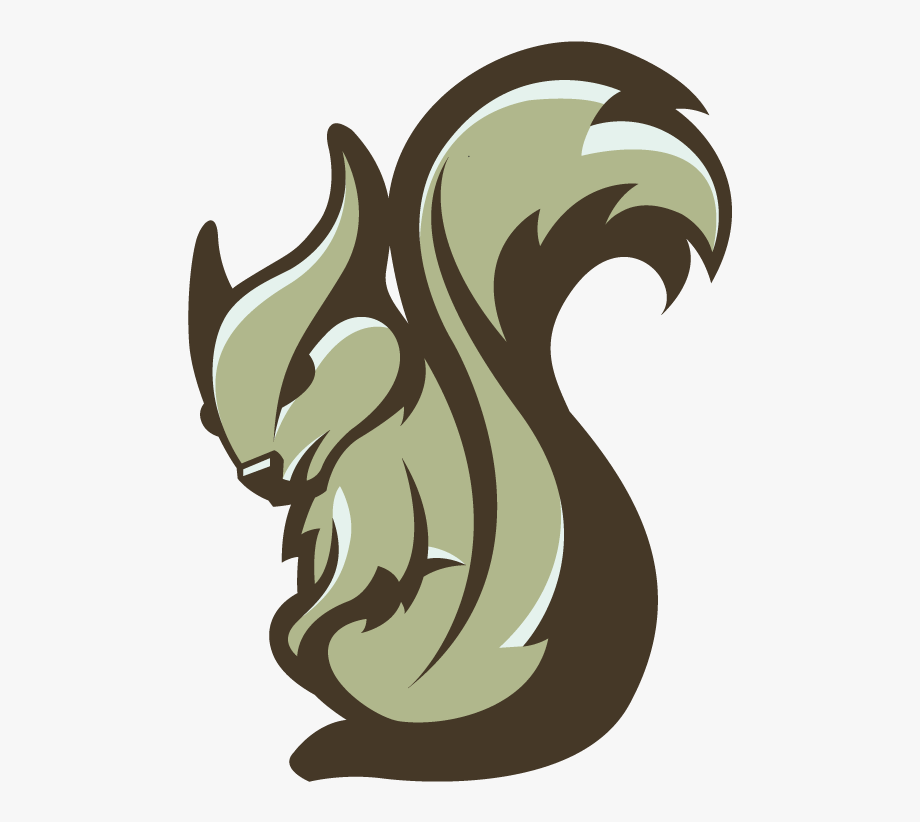 Vector Squirrel Mascot.
