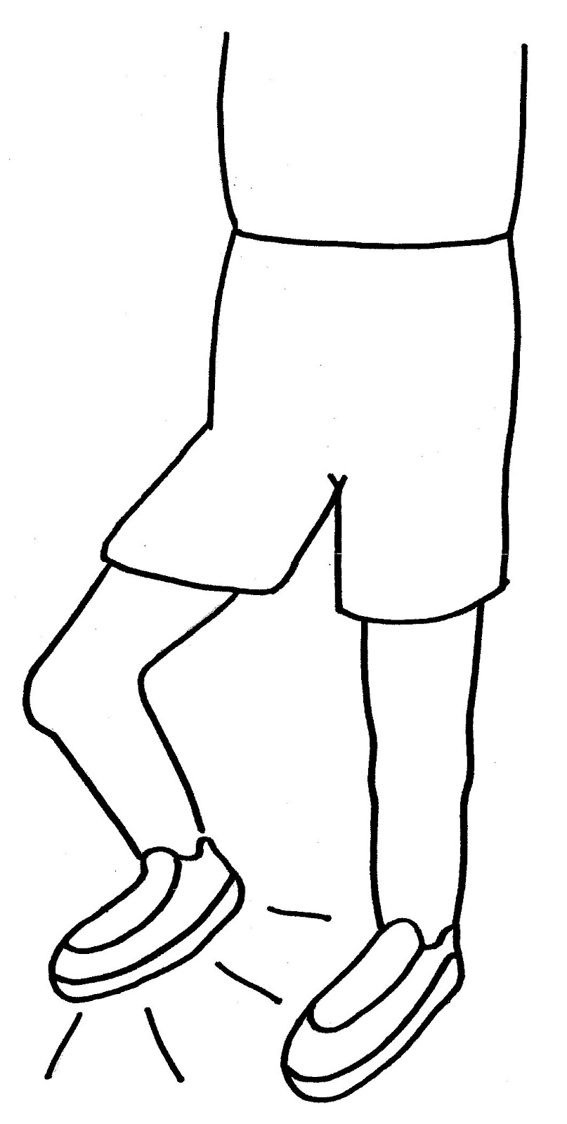 Stomping Feet Clipart.