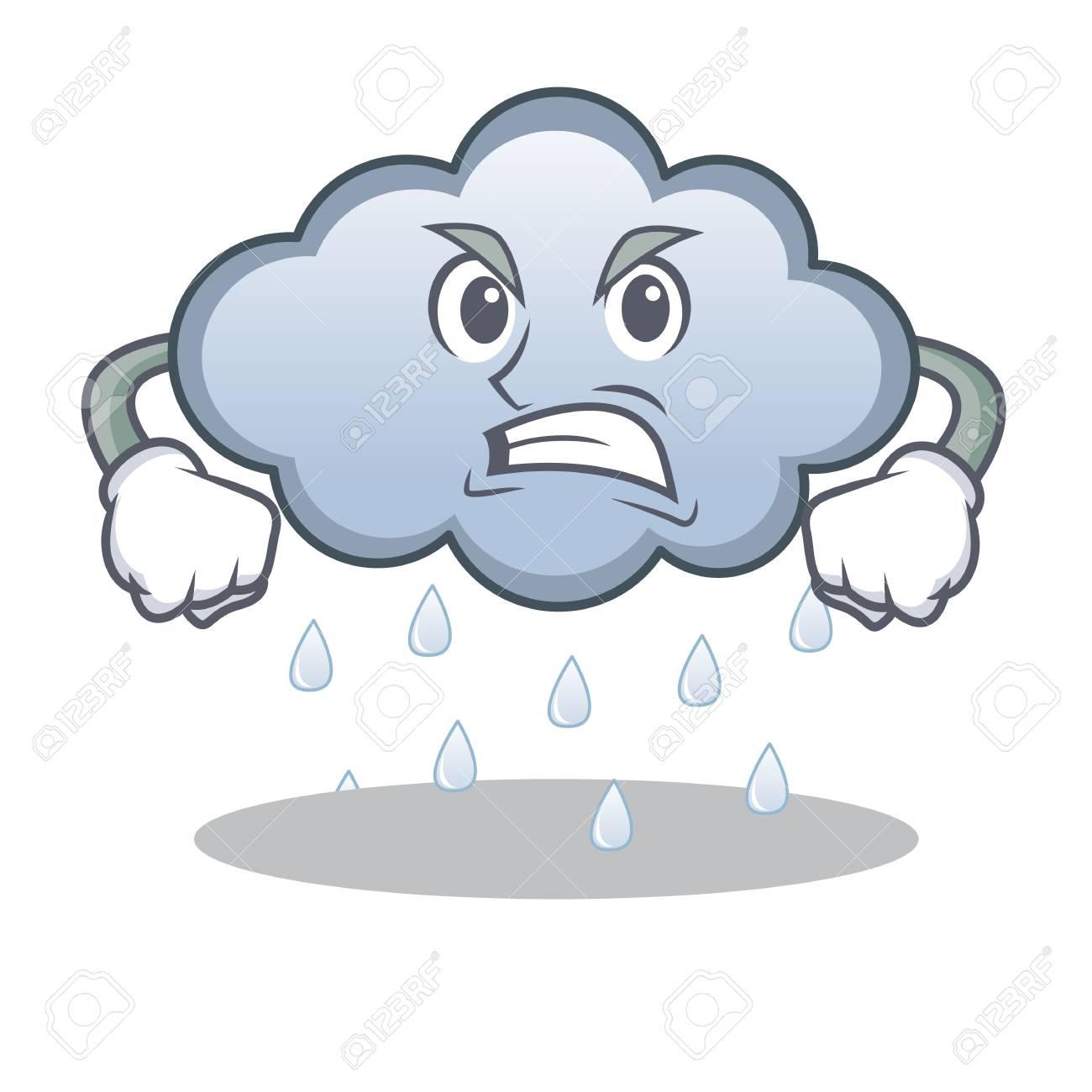 581 Rain Cloud free clipart.
