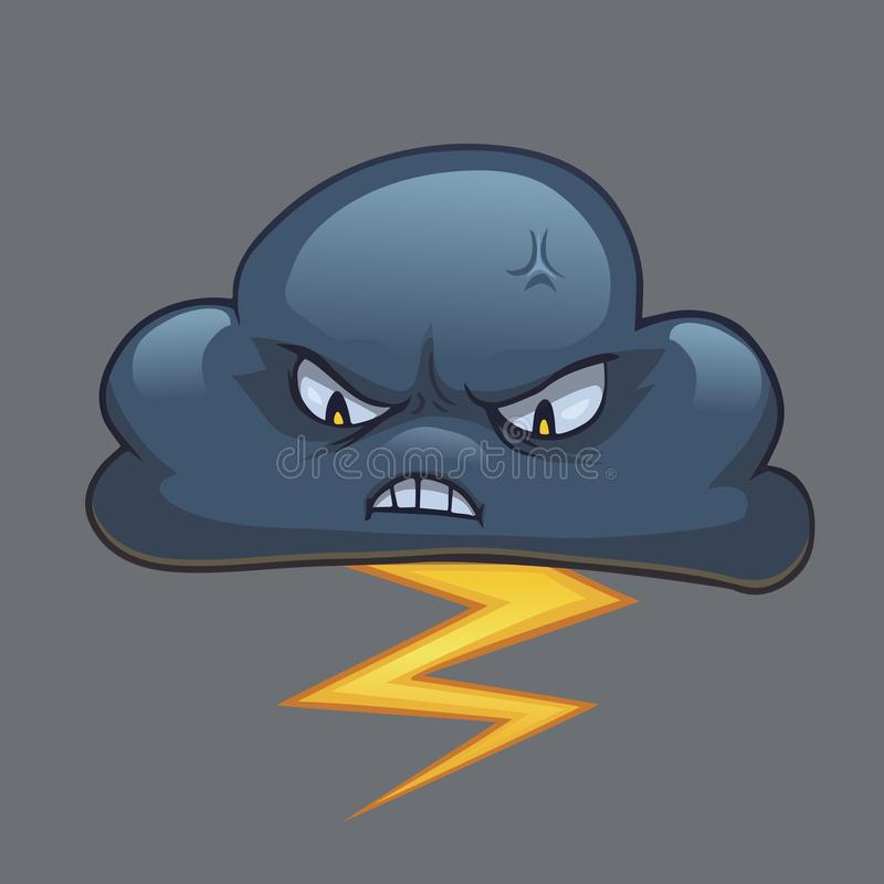 Angry Thunderbolt Stock Illustrations.