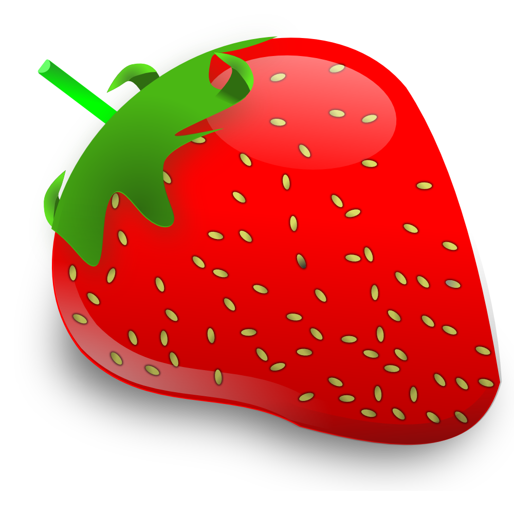 Strawberries clipart strawberry seed, Strawberries.
