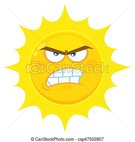 Angry sun Vector Clipart EPS Images. 766 Angry sun clip art vector.