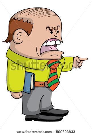 Angry teacher clipart 3 » Clipart Station.