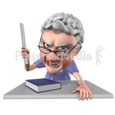 Bernice Teacher Angry.