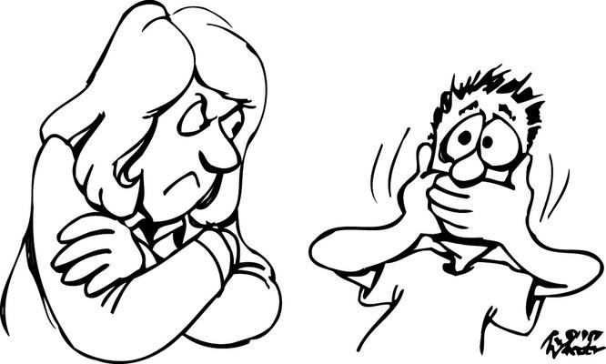 Angry Teacher Clipart Black And White.